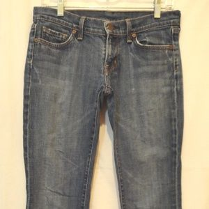 Citizens Of Humanity Jeans - Citizens of Humanity Kelly #001 Stretch Low Boot